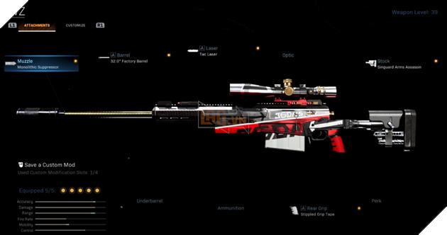 Call of Duty Warzone: Phụ kiện đi kèm cho khẩu AX-50 để thống trị chiến trường Warzone 2