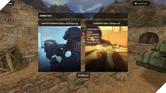 Hướng dẫn cách chơi Counter-Strike 1.6 cực dễ dàng ngay trên trình duyệt web 5