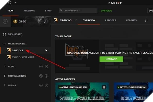 Hướng dẫn: Cách đăng ký và chơi chơi CS:GO trên hệ thống FaceIT 7