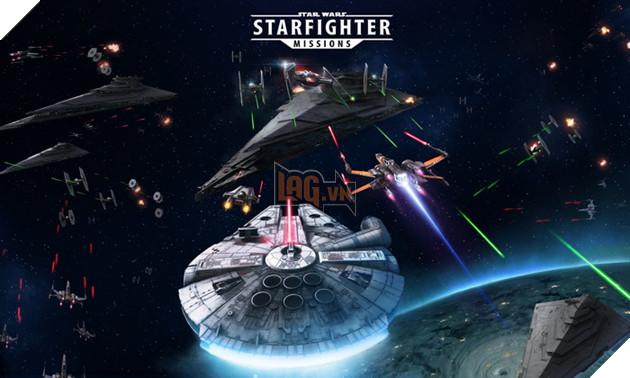 Star Wars: Starfighter Missions - Bom tấn bắn máy bay trên mobile chính thức mở đăng kí sớm tại Châu Á 3