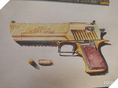 Game thủ nhí 7YO làm loá mắt người xem với tài năng vẽ súng như trong PUBG Mobile  2