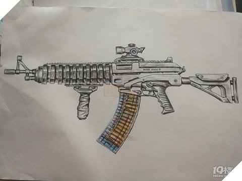 Game thủ nhí 7YO làm loá mắt người xem với tài năng vẽ súng như trong PUBG Mobile  5