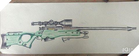 Game thủ nhí 7YO làm loá mắt người xem với tài năng vẽ súng như trong PUBG Mobile  7