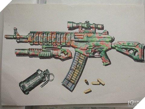 Game thủ nhí 7YO làm loá mắt người xem với tài năng vẽ súng như trong PUBG Mobile  8
