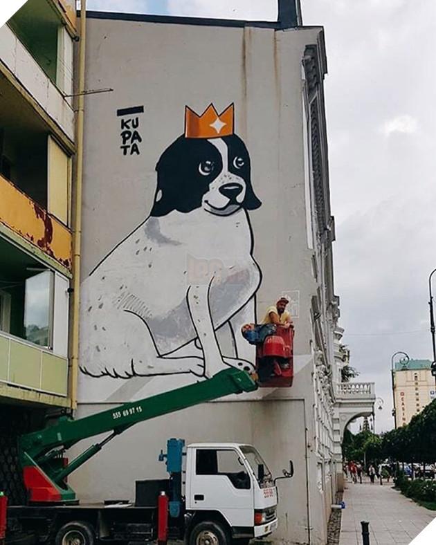 Cảm động câu chuyện chú chó luôn dẫn trẻ em qua đường mỗi ngày