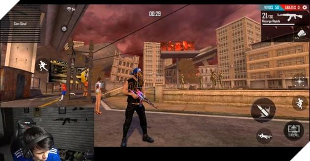 """""""Há mồm"""" với ảnh ingame thực tế của Free Fire Max, phiên bản đưa """"Lửa Miễn Phí"""" đẹp ngang PUBG Mobile - Ảnh 2."""
