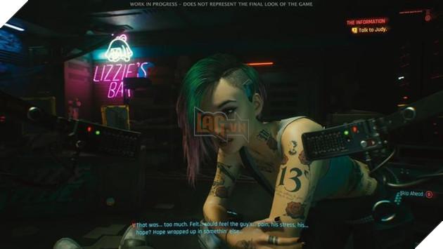 Cyberpunk 2077 tung ảnh NPC Judy Alvarez cực hút fan trên Twitter 2