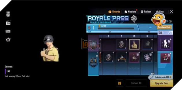 PUBG Mobile: Tất cả phần thưởng của Royale Pass Season 14 3