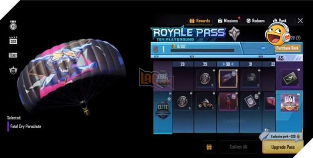 PUBG Mobile: Tất cả phần thưởng của Royale Pass Season 14 6