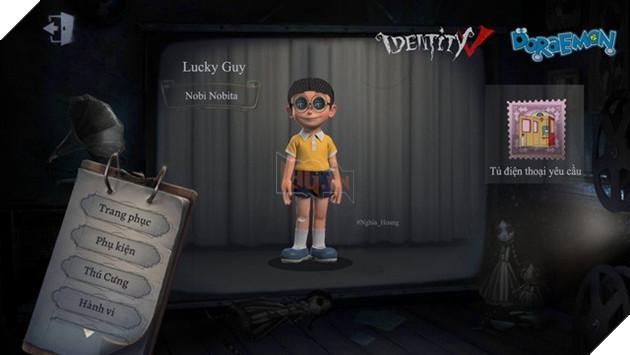 Ám ảnh với dàn nhân vật Doraemon bỗng xuất hiện trong Identity V cùng diện mạo cực kỳ creepy - Ảnh 2.