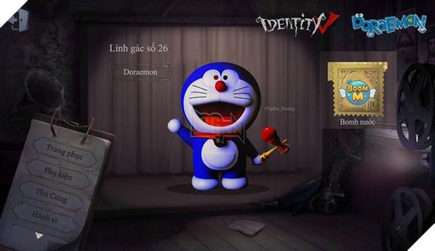 Ám ảnh với dàn nhân vật Doraemon bỗng xuất hiện trong Identity V cùng diện mạo cực kỳ creepy - Ảnh 4.