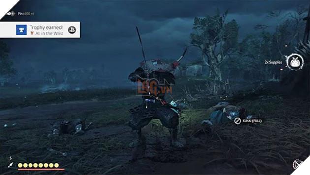 Ghost of Tsushima: Hướng dẫn mở khóa một số Trophy trong game
