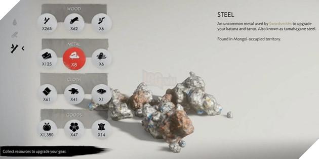 Cẩm nang Ghost of Tsushima: Mẹo để sở hữu Steel vô hạn