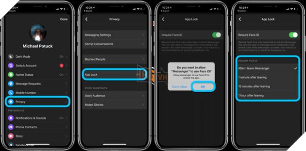 Hướng dẫn chi tiết cách khóa Facebook Messenger bằng AppLock 2