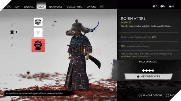 Cẩm nang Ghost of Tsushima: Tổng hợp các bộ giáp lấy được trong game 4