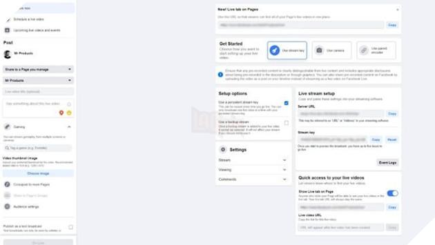 Hướng dẫn: Làm thế nào để Stream trên Facebook Gaming 5