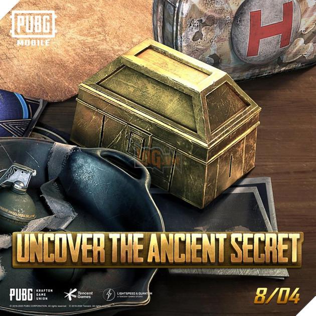 PUBG Mobile: Mọi thứ về sự kiện Bí mật cổ đại vào ngày 4 tháng 8 4