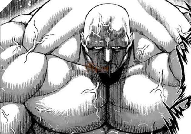 Dự đoán spoiler Kengan Omega chap 72: Julius thể hiện sức mạnh tuyệt đói, áp đảo Mudo! 4