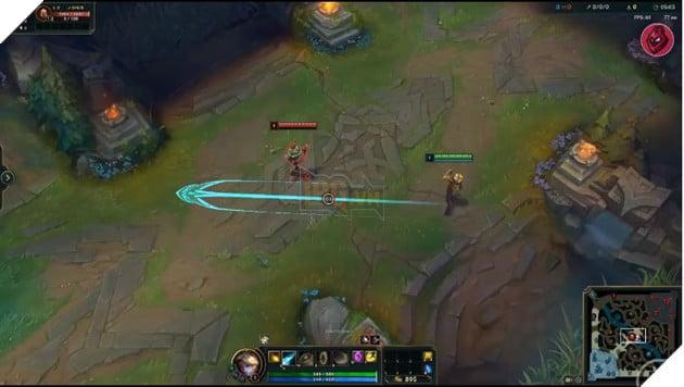 LMHT: Mẹo cực bổ ích để game thủ tung kỹ năng định hướng bách phát bách trúng