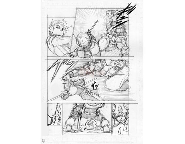 Dragon Ball Super chap 63 bị lộ 8 trang bản thảo với nội dung về cuộc so tài giữa Merus và Moro 6