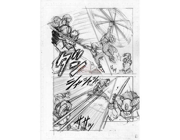 Dragon Ball Super chap 63 bị lộ 8 trang bản thảo với nội dung về cuộc so tài giữa Merus và Moro 7