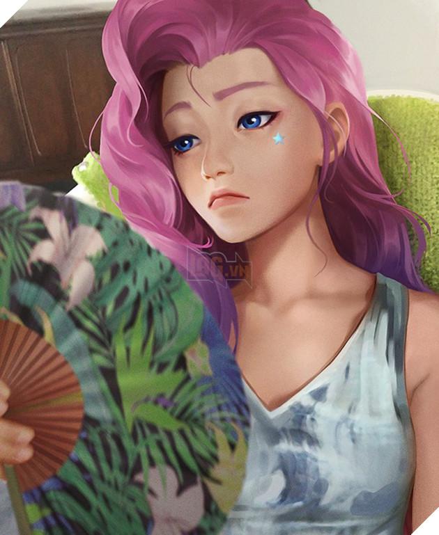 Samira còn chưa kịp ra mắt, Riot Games đã tung hàng loạt thông tin về tướng Pháp Sư mới Seraphine, có cả MXH như idol - Ảnh 5.