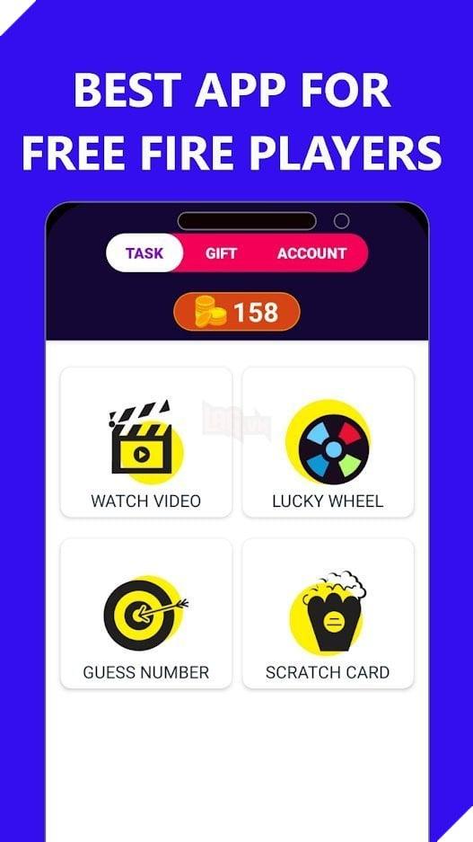 Bạn có thể chơi các trò chơi nhỏ trong ứng dụng này để nhận điểm, có thể đổi thành Kim cương