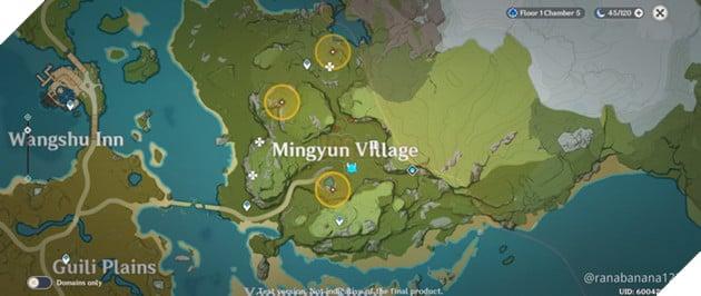 Genshin Impact: Danh sách vị trí Nhiệm vụ Ẩn Hidden Quest và Thử thách của Dandy 13