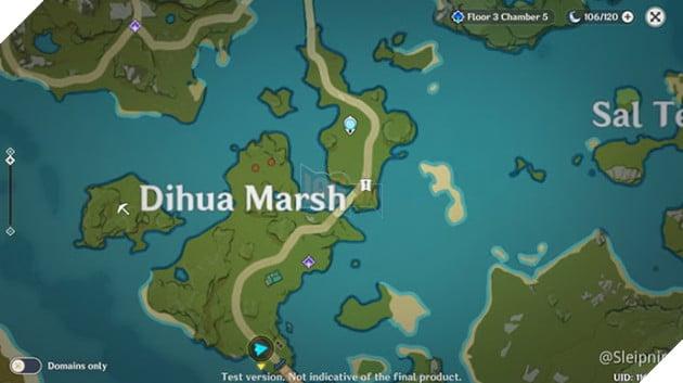 Genshin Impact: Danh sách vị trí Nhiệm vụ Ẩn Hidden Quest và Thử thách của Dandy 5