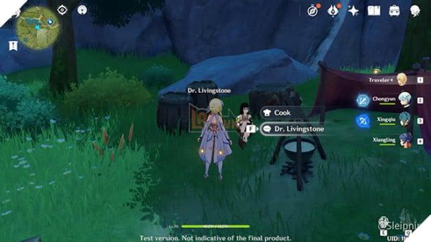 Genshin Impact: Danh sách vị trí Nhiệm vụ Ẩn Hidden Quest và Thử thách của Dandy 2