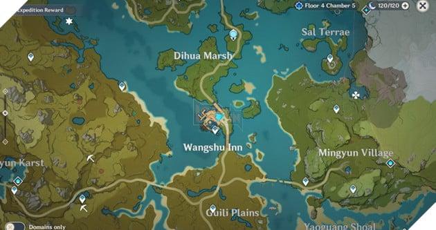 Genshin Impact: Danh sách vị trí Nhiệm vụ Ẩn Hidden Quest và Thử thách của Dandy 31