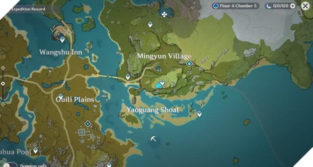 Genshin Impact: Danh sách vị trí Nhiệm vụ Ẩn Hidden Quest và Thử thách của Dandy 29