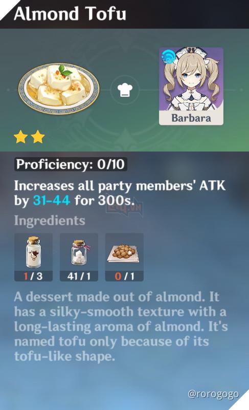 Genshin Impact: Hướng dẫn Công Thức Nấu ăn quan trọng nhất trong game dành cho tân thủ 19