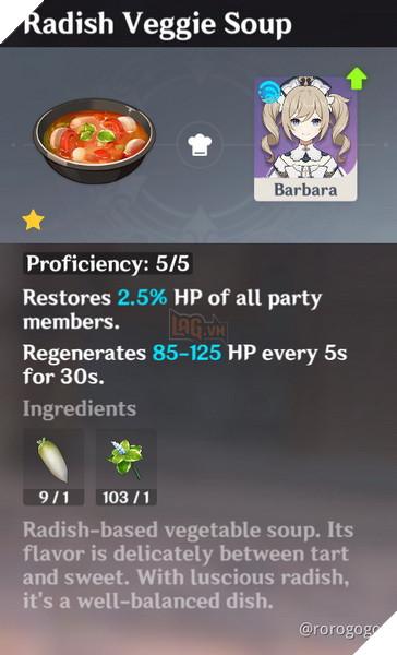 Genshin Impact: Hướng dẫn Công Thức Nấu ăn quan trọng nhất trong game dành cho tân thủ 3