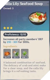 Genshin Impact: Hướng dẫn Công Thức Nấu ăn quan trọng nhất trong game dành cho tân thủ 8