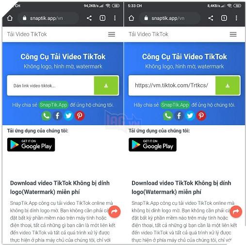 Hướng dẫn: Cách tải video TikTok không bị dính logo trên mọi thiết bị  5
