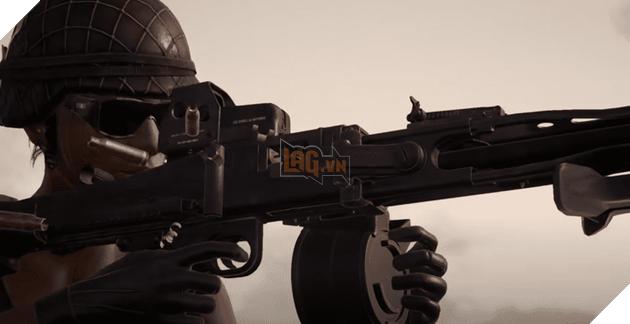 PUBG PC: Những điều cần biết về khẩu LMG mới, MG3 2