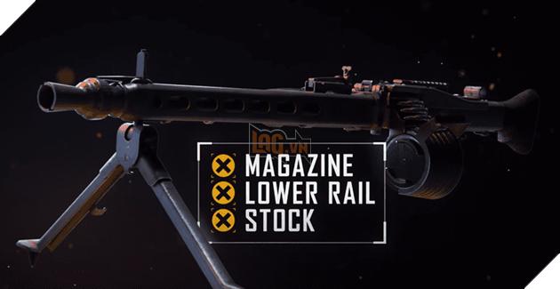 PUBG PC: Những điều cần biết về khẩu LMG mới, MG3 5