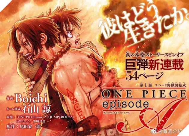 One Piece Ace's Story do tác giả Dr.Stone vẽ siêu cơ bắp, nhìn xong quên cả nhân vật gốc