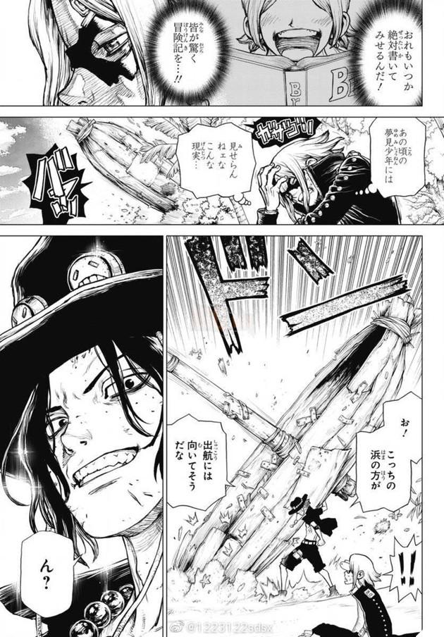 One Piece Ace's Story do tác giả Dr.Stone vẽ siêu cơ bắp, nhìn xong quên cả nhân vật gốc 4