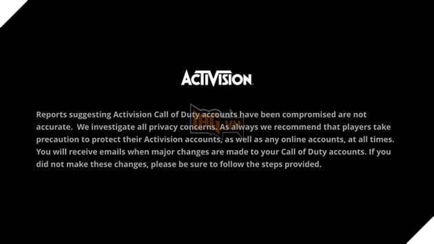 Tin nóng: Activision bị hack, có nguy cơ lộ hàng ngàn tài khoản game thủ 3
