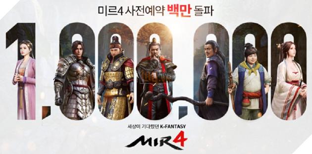 Mir 4: Bom tấn nhập vai mobile Hà Quốc cán mốc 1 triệu lượt đăng kí trước ngay khi mở cửa sớm 2