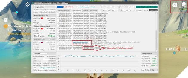 Genshin Impact: Hướng dẫn cách giảm giật lag, giảm ping cho server Trung Quốc, SEA và Global 3