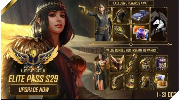 Garena Free Fire: Nhận 100 kim cương miễn phí với thẻ Elite Pass Season 29