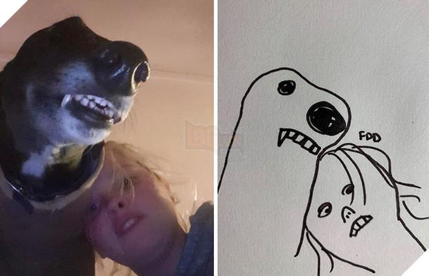 Bức tranh cún ngáo bất ngờ đánh bại mọi đối thủ nặng kí, giật giải quán quân trong cuộc thi vẽ chó - Ảnh 5.