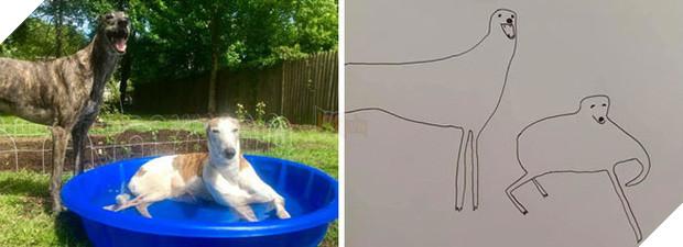Bức tranh cún ngáo bất ngờ đánh bại mọi đối thủ nặng kí, giật giải quán quân trong cuộc thi vẽ chó - Ảnh 7.