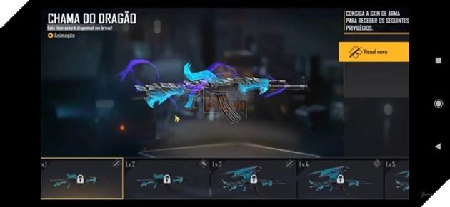 Free Fire: Mọi thứ về Blue Flame Dragon AK47 Evolution Series 2