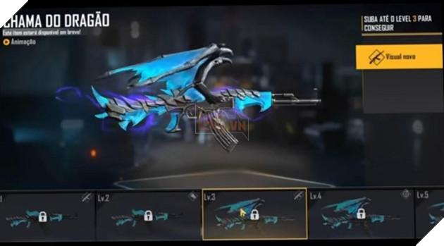 Free Fire: Mọi thứ về Blue Flame Dragon AK47 Evolution Series 4