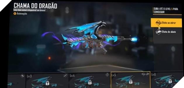 Free Fire: Mọi thứ về Blue Flame Dragon AK47 Evolution Series 6
