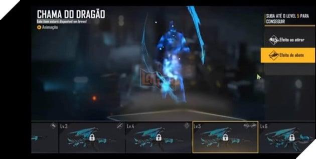 Free Fire: Mọi thứ về Blue Flame Dragon AK47 Evolution Series 7